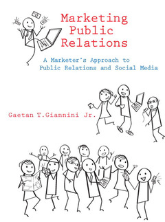 Cover of the book Marketing public relations