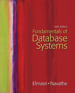 Cover of the book Fundamentals of database systems (6th ed )