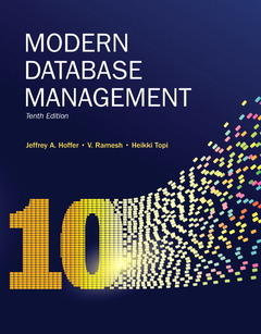 Cover of the book Modern database management (10th ed )