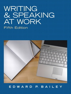 Cover of the book Writing & speaking at work (5th ed )