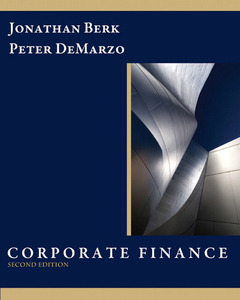 Cover of the book Corporate finance (2nd ed )