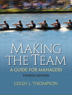 Cover of the book Making the team (4th ed )