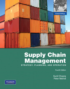 Cover of the book Supply chain management (4th Ed.)