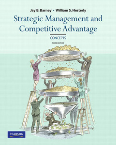 Cover of the book Concepts, strategic management and competitive advantage