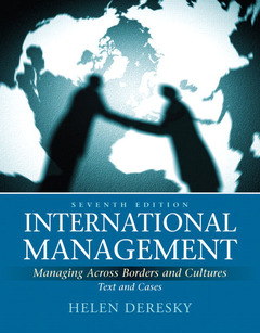 Cover of the book International management (7th ed )