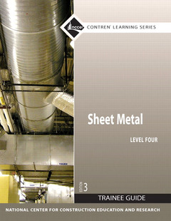 Cover of the book Sheet metal level 4 trainee guide, paperback, 3/e (3rd ed )