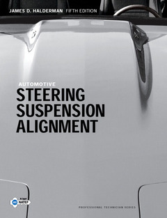 Cover of the book Automotive steering, suspension, alignment
