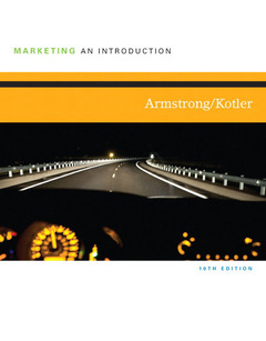 Cover of the book Marketing (10th Ed.)