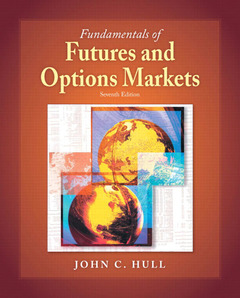 Cover of the book Fundamentals of futures and options markets (7th ed )