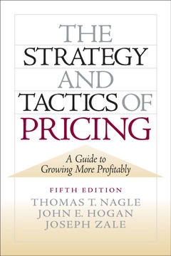 Cover of the book The strategy and tactics of pricing (5th ed )