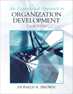 Cover of the book Experiential approach to organization development (8th ed )