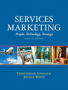 Cover of the book Services marketing (7th ed )