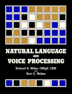 Cover of the book Natural language voice processing
