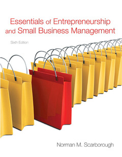 Cover of the book Essentials of entrepreneurship and small business management (6th ed )