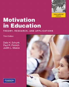 Couverture de l'ouvrage Motivation in education