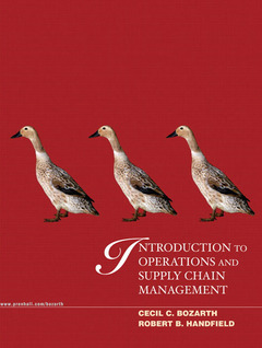 Cover of the book Introduction to operations and supply chain management