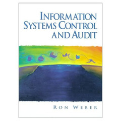 Cover of the book Information systems control and audit