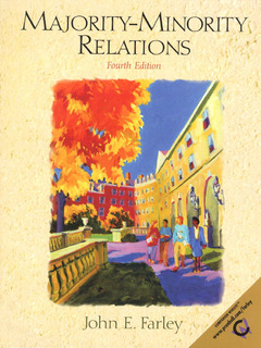 Cover of the book Majority-minority relations (4° ed )