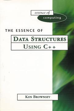 Cover of the book The essence of data structures