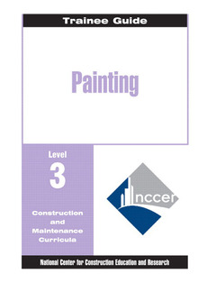 Cover of the book Painting level 3 trainee guide, revision perfect bound
