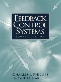 Cover of the book Feedback control (4° ed )