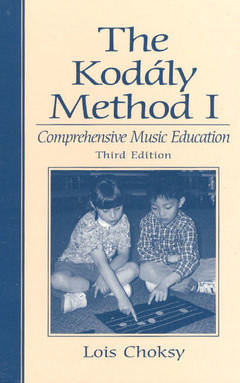 Cover of the book Kodaly method i, the, comprehensive music education (3rd ed )