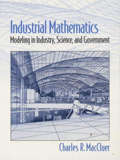 Couverture de l'ouvrage Industrial mathematics