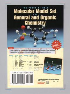 Couverture de l'ouvrage Prentice hall molecular model set for general and organic chemistry
