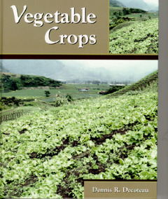 Cover of the book Vegetable crops