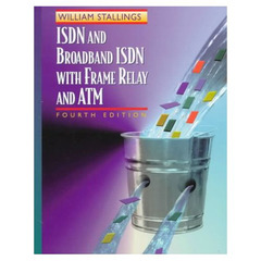 Cover of the book ISDN and broadband ISDN with frame relay and ATM (4th ed' 98)