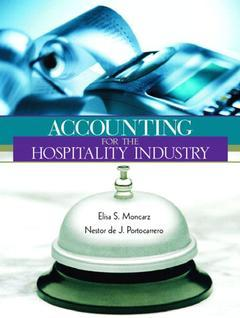 Cover of the book Accounting for hospitality industry
