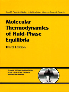Cover of the book Molecular thermodynamics of fluid-phase equilibra, 3rd ed.