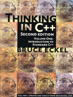 Cover of the book Thinking in C++, volume 1 : Introduction to standard C++ with CD-ROM