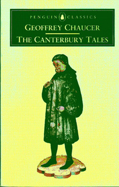 Cover of the book Cantebury tales, in modern english, the