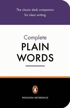 Cover of the book The complete plain words 3rd ed.