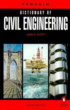 Cover of the book Penguin's dictionary of civil engineering (4th ed'91) paper