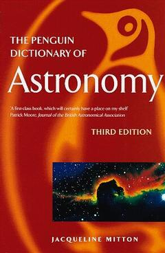 Cover of the book Penguin dictionary of astronomy, 3° ed 1998