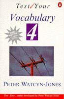 Cover of the book Test your vocabulary book 4 paper