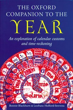 Cover of the book The oxford companion to the year