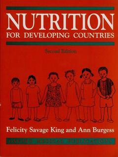Cover of the book Nutrition for developing countries 2° ed.