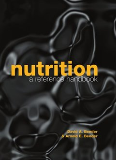 Cover of the book Nutrition: a reference handbook