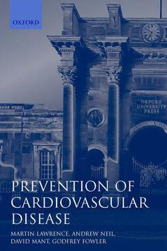 Cover of the book Prevention of cardiovascular disease paperback