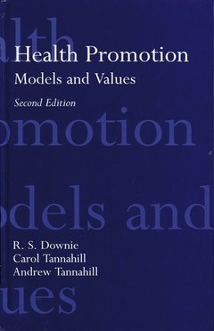 Cover of the book Health promotion : models and values