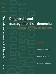 Cover of the book Diagnosis and mangement of dementia paperback