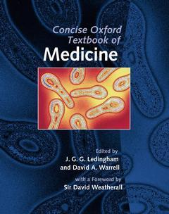 Cover of the book Concise Oxford textbook of medicine