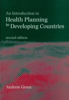 Couverture de l'ouvrage An Introduction to Health Planning in Developing Countries paperback