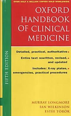 Cover of the book Oxford handbook of clinical medicine 5° Ed. 2001