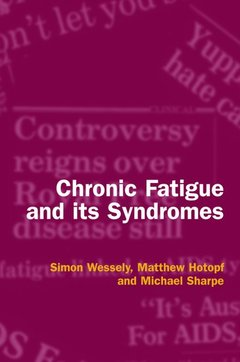 Cover of the book Chronic fatigue and its syndromes