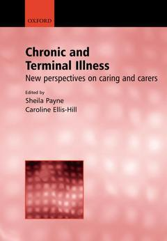Cover of the book Chronic and terminal illness, new perspectives on being a carer
