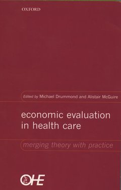Cover of the book Economic evaluation in health care merging theory with practice